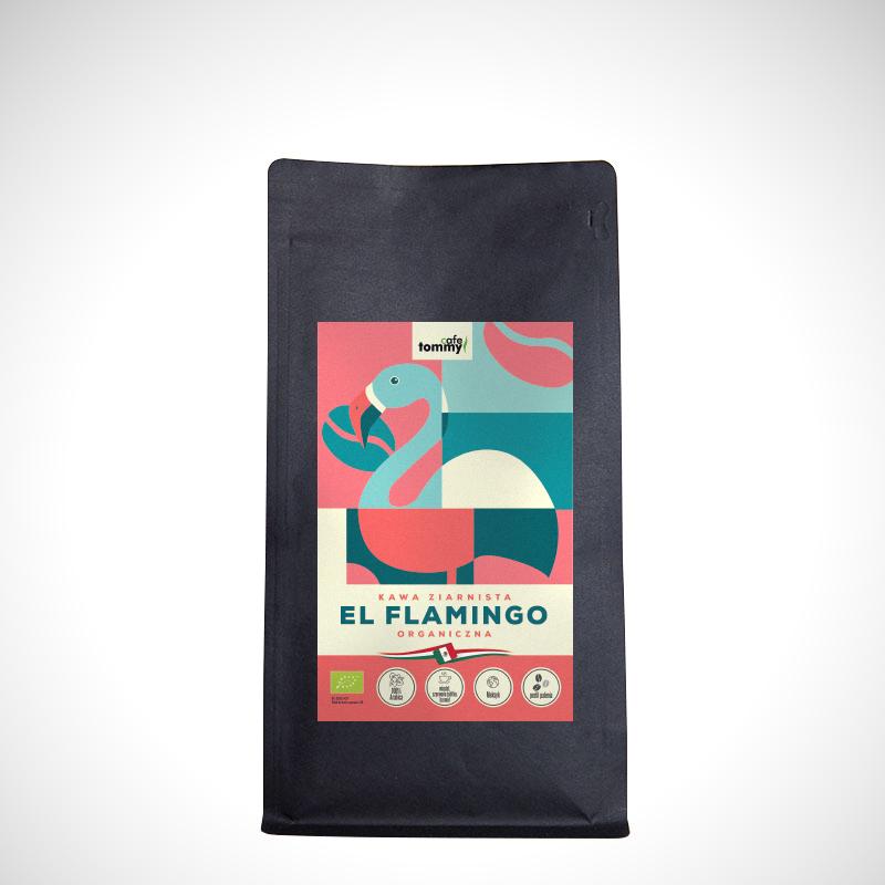 el flamingo kawa ziarnista organiczna